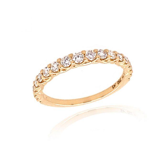 Mark Milton Yellow Gold Diamond Eternity Ring