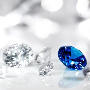 diamonds and gem stones